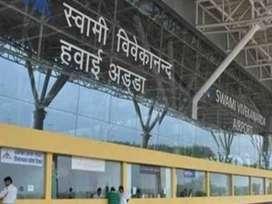 Jobs in Raipur Airport.