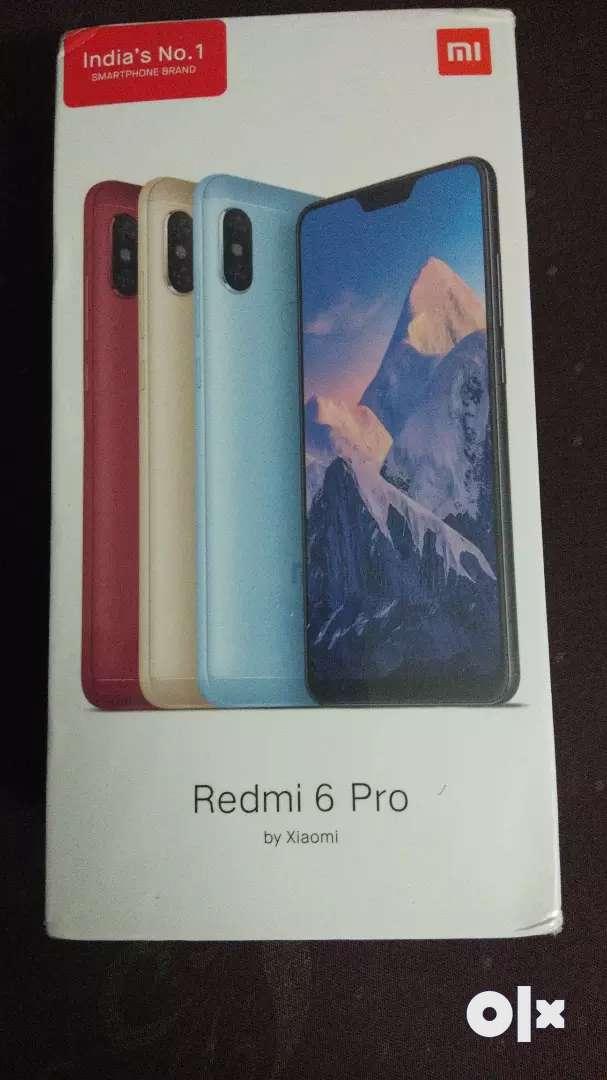 Redmi 6 pro, RAM - 4 GB, Internal - 64 GB, black 0