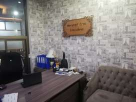 Fully furnished office for call center