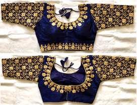 New update malbari silk blouse
