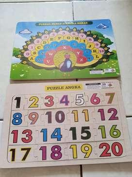 Mainan edukasi puzzle murah