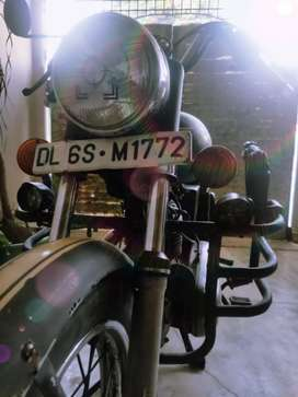 Royal Enfield old model electra 350 cc modified