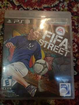 PS3 FIFA street CD
