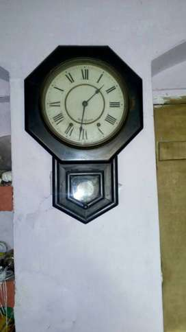 antique clock 80yrs. old