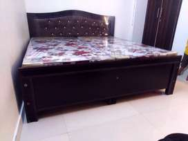 Double bed, Single Bed, Almirah, Gadda, wooden Furniture