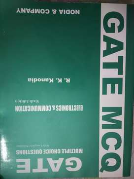 GATE MCQ by R K Kanodia