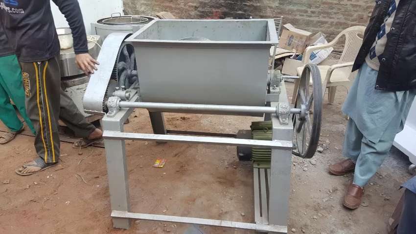 Surf Mixing And Packing Machine Complete Setup of Surf making machine 0