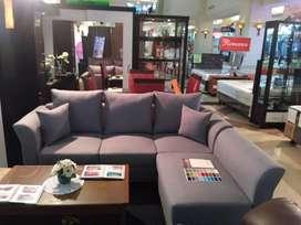 Sofa L Dijual Kredit Tanpa Kartu Kredit DP 200rb