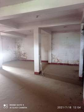 A 1100 sq.ft Rd facing Godown at Chutia is available for rent.