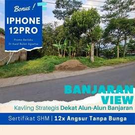 Area Alun-Alun Banjaran; SHM, Profit 30%,  Harga 1 juta-an