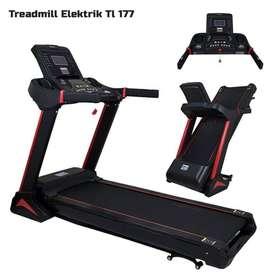 Hemat Biaya Treadmill elektrik 1 fungsi TL177 Fitness