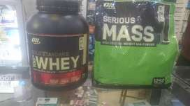 Whey 5lbs and serious mass