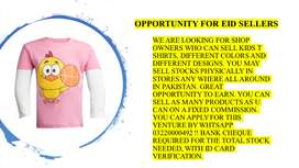 OPPORTUNITY FOR KIDS CLOTHING SELLERS