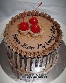 Simple kue Ulang tahun murmer