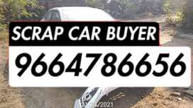 Dead rusted junked cars scrap buyers