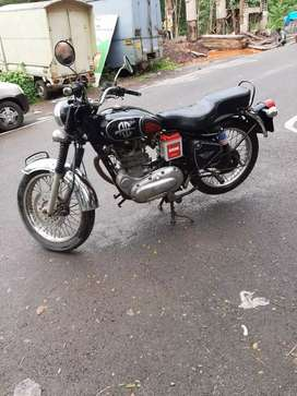 500cc bullet with self start old engine right side break