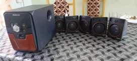 Blueberry speaker's full set