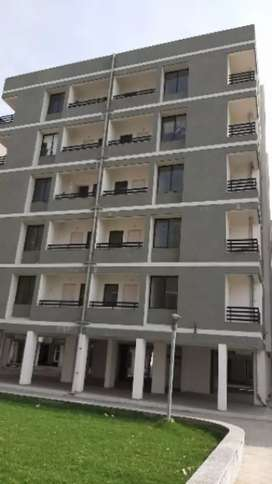 2BHK ready to move flat available in 1st floor with car parking.