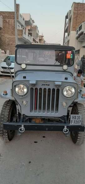 Thar Wellys ford with di engine