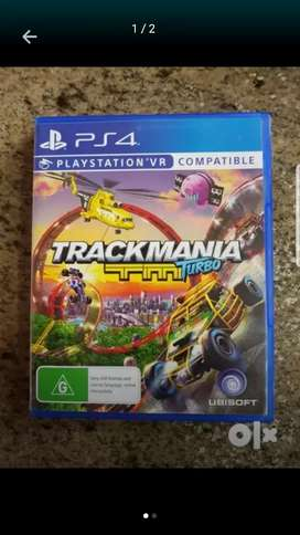 PlayStation 4 game - TrackMania Turbo - VR compatible