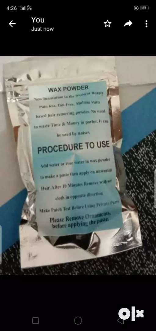 Wax powder 0
