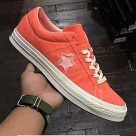 "Original  Converse one star OX Vintage ""Turf Orange"" BNIB"