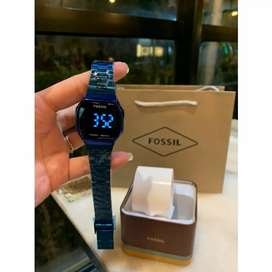 FOSSIL TOUCH WATCH CERAMIC