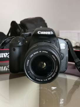 Canon EOS 1300D with 75- 300 &18-55mm LENS
