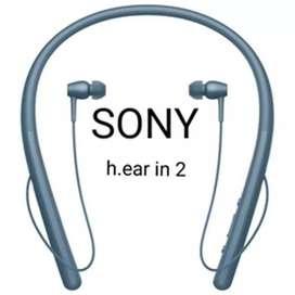 New Sony headset