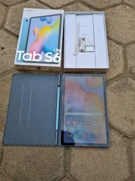 Samsung Tab S6 Lite 4/128 GB Fullset Original Sein