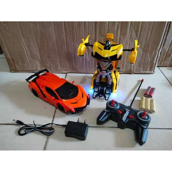 MAINAN MOBIL ROBOT TRANSFORMER REMOTE KONTROL THE LAST KNIGHT 2418 0