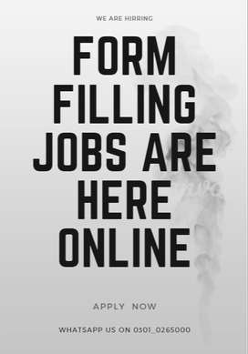 EARN your pocket money From doing home based form filling jobs