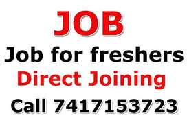 Jobs Urgent Required for Female