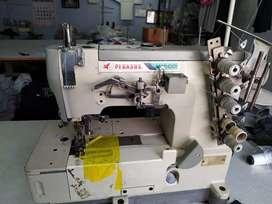 Over lock and flat lock sewing machine, stitching, tailor machine
