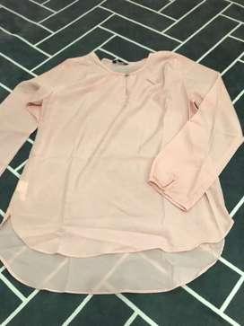 connexion blouse pink