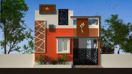 New 2 bhk house in pappampatti