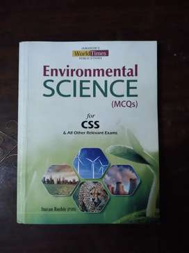 Environmental sciences mcqs book for css and other competitive exams.