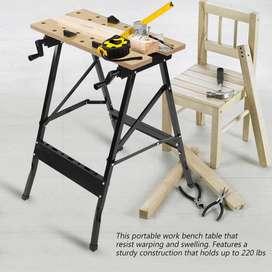 Meja Lipat untuk Kerja Pertukangan Rumah Tangga
