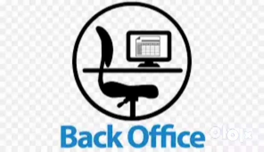 hiring for back-office executive fresher also can apply 0