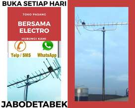 Melayani pemasangan sinyal antena tv digital bekasi barat