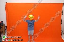 Paket Backdrop / Background stand taffstudio + Kain studio