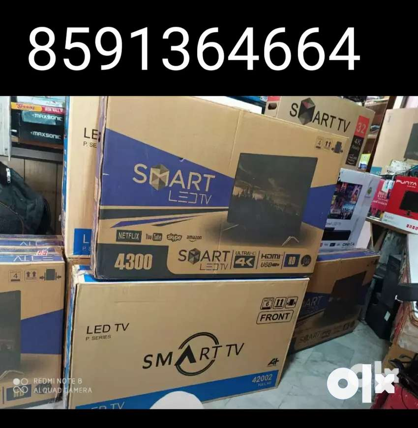 New 42  inch smart android led with 1 year warranty