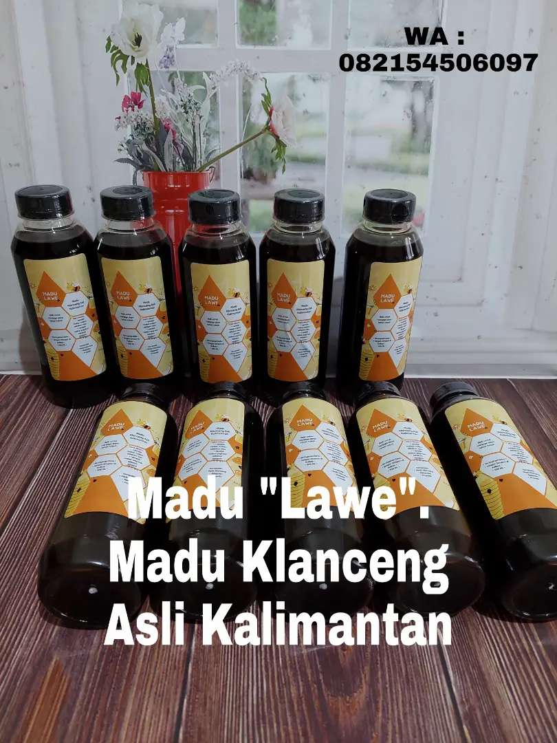 Madu Klanceng Asli Kalimantan
