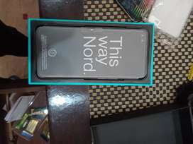 Oneplus nord just box open new phone non PTA  8/128 onyx grey color