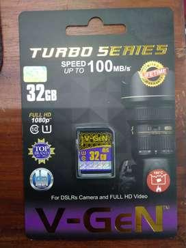 Kartu Memori V-gen 32GB For DSLRs Camera