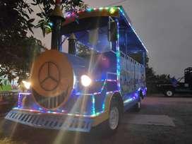 full sett Odong odong2 Mobil kereta mini wisata kelinci bompes