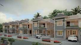 Rich Looking 3/4 BHK Premium Villas In Mannuthy, Thrissur