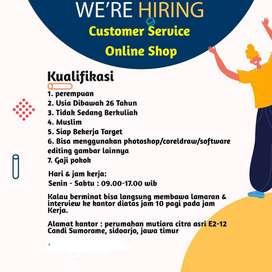 Admin Marketing Online