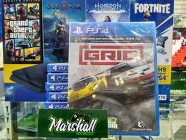KASET PS4 GRID NEW