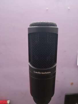 Audio technicha At2020 Condenser Microphone